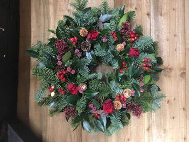 Christmas Wreath.Christmas Wreath Work Shop November 29th December 13th 5 30 8 00